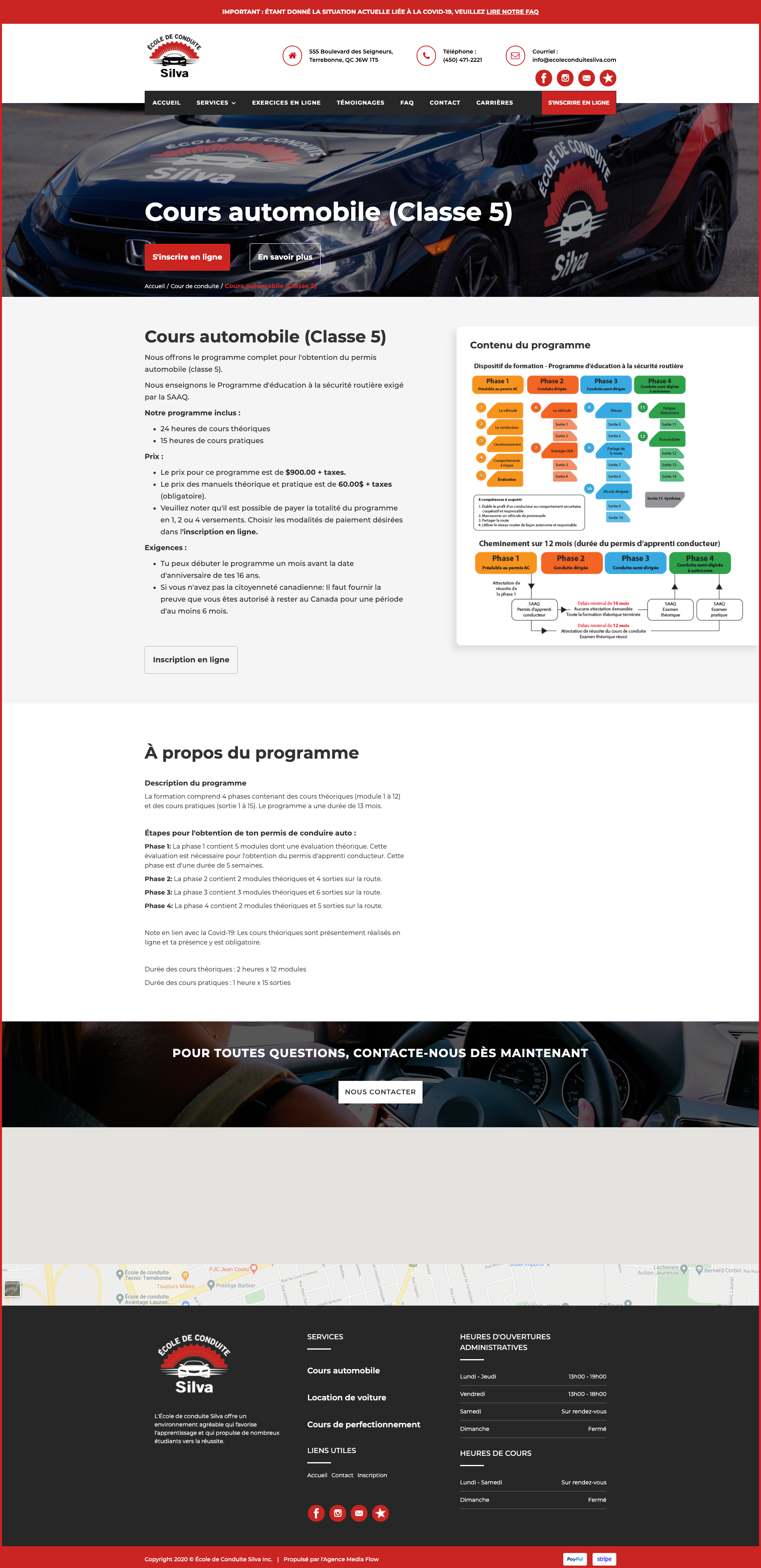 Conception de site web Laval