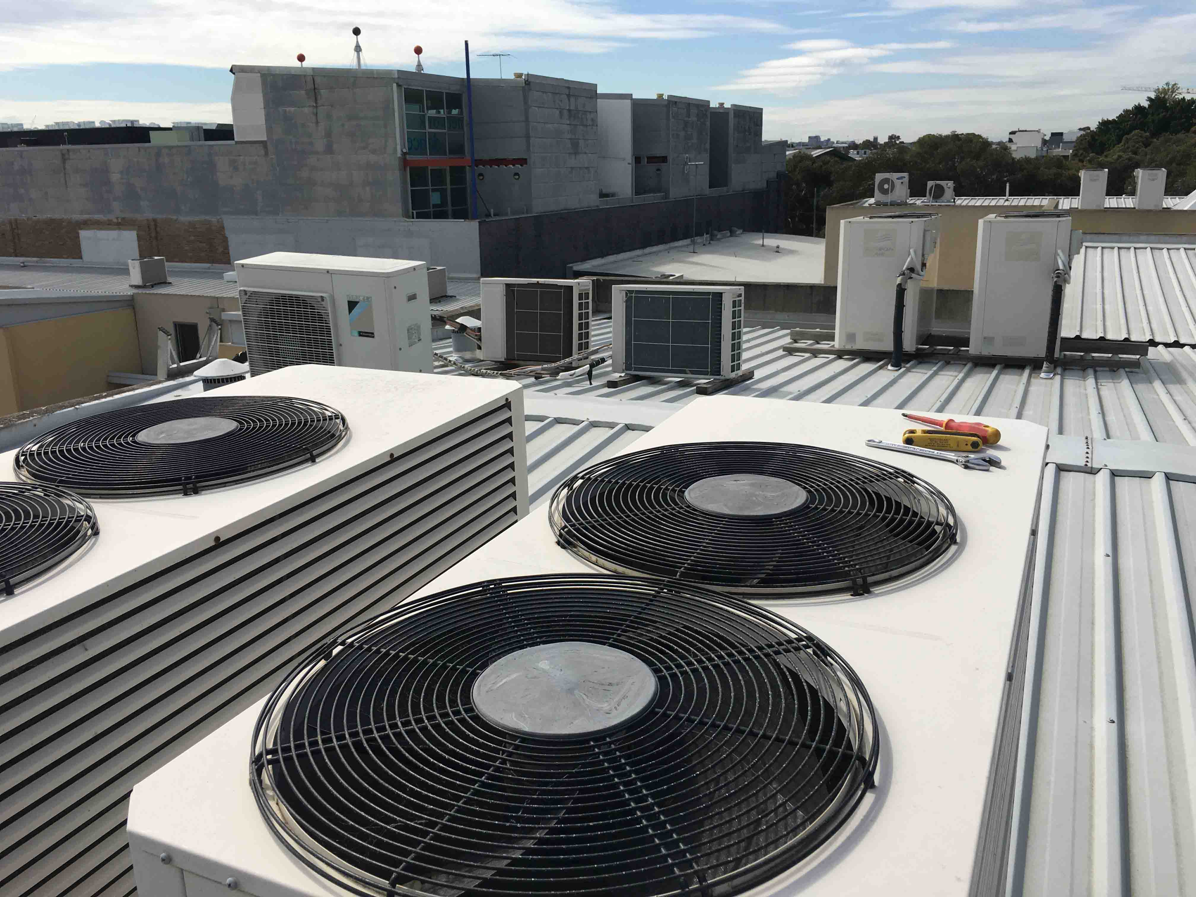 A Campbelltown Air Conditioning Job