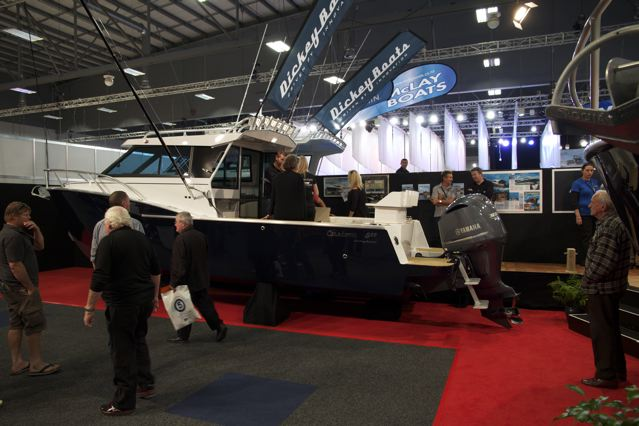 Release of Dickey Boats Custom 750 XS
