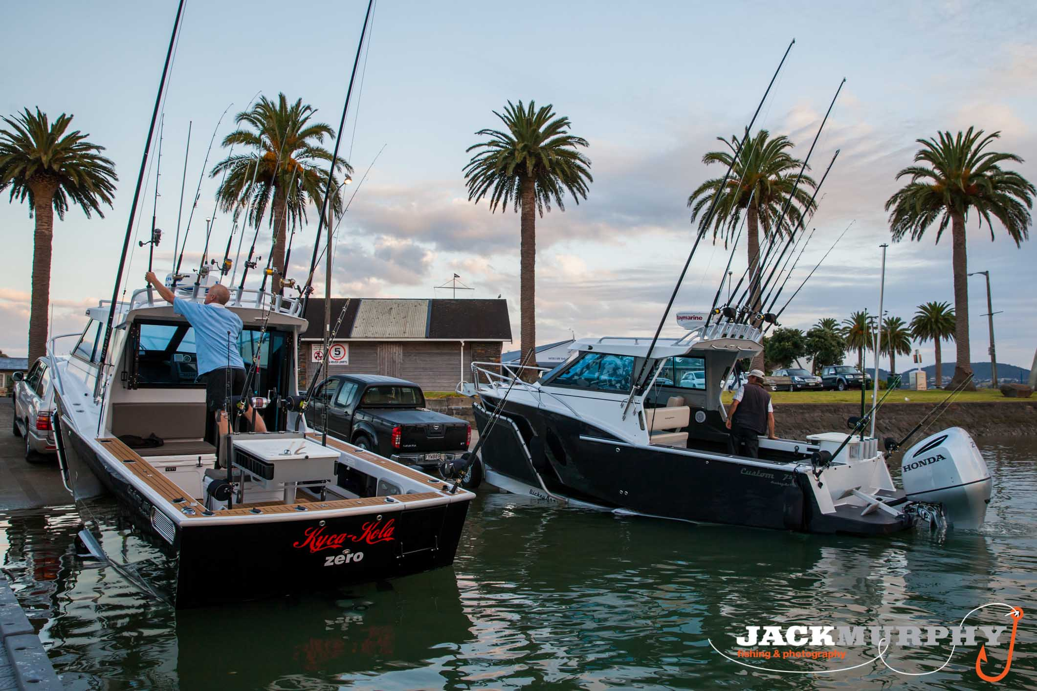 Dickey Boats featured in Jack Murphy's Fishing Blog