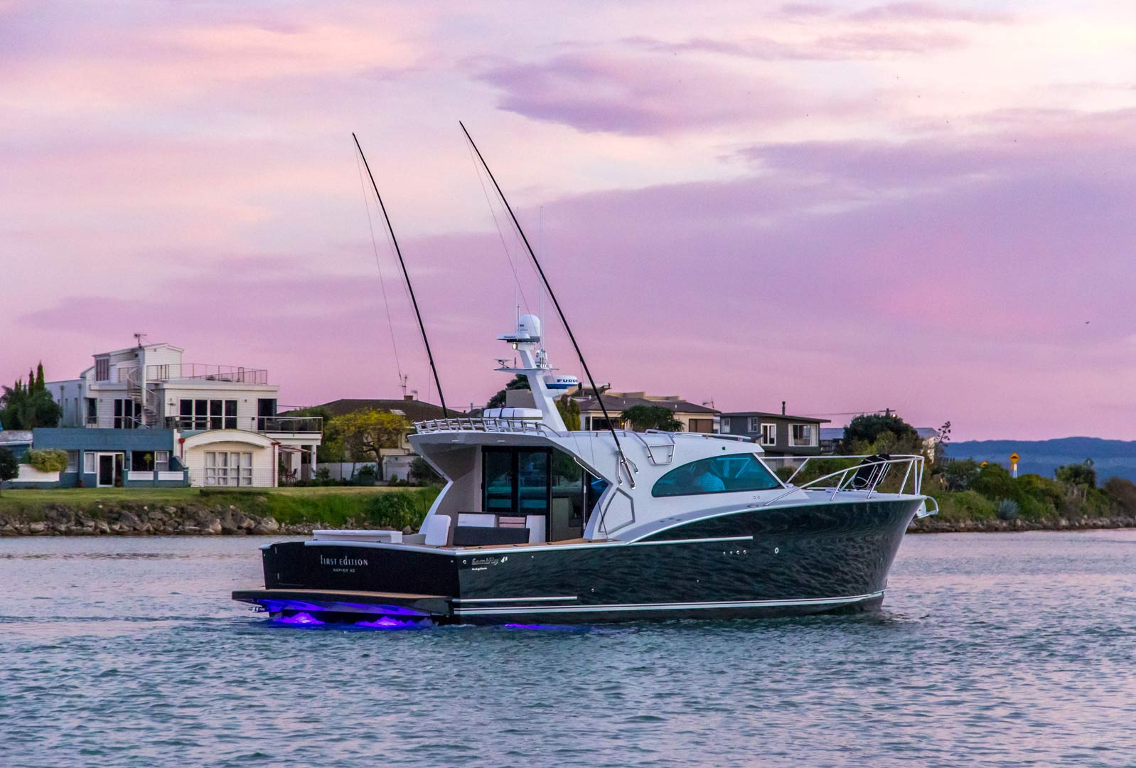 Review: Dickey Semifly 45 - Boating New Zealand, December 2016