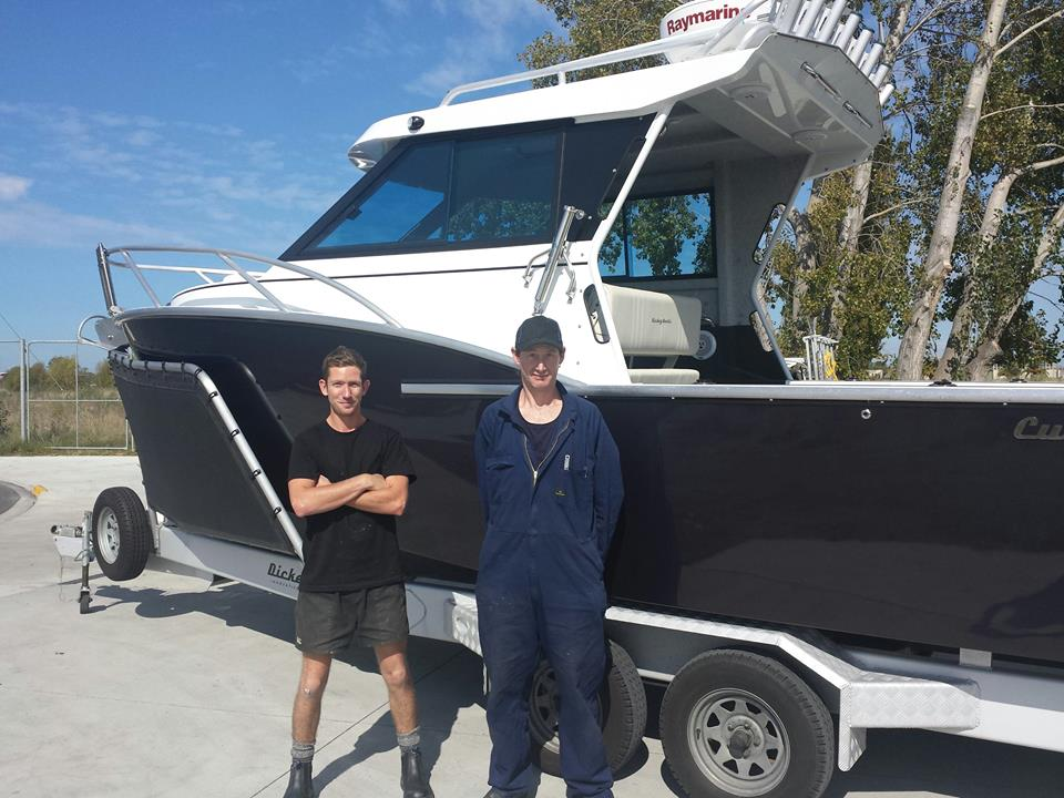 Dickey Boats welcomes two new team members
