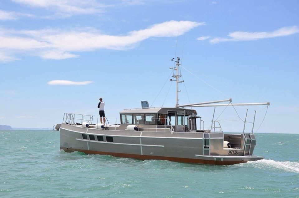 Sea trials of the new Dickey Boats LRC58
