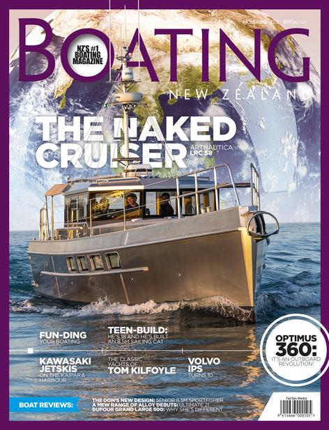ArtNautica LRC 58 review - Boating NZ