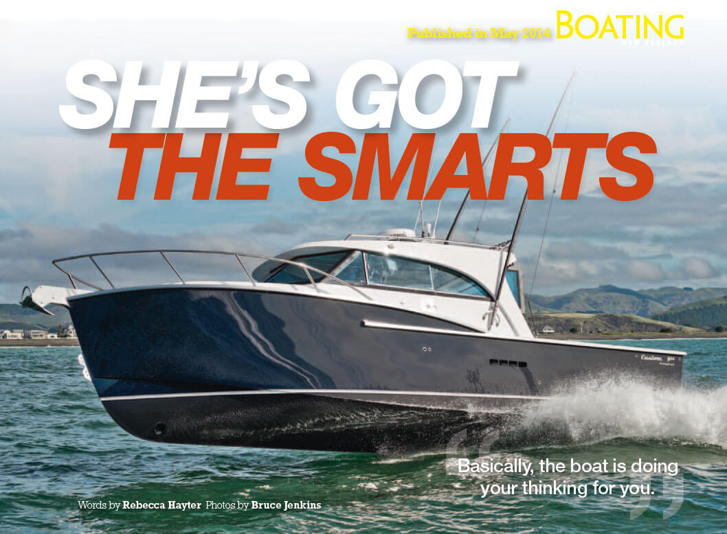 Dickey Custom 950 review - Boating NZ