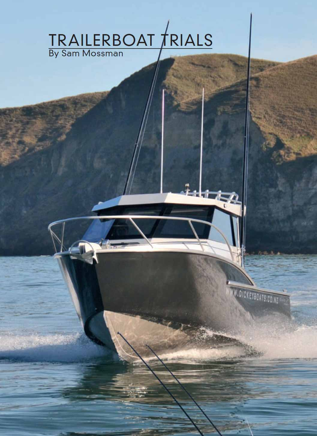 Dickey Custom 750 review - NZ Fishing News