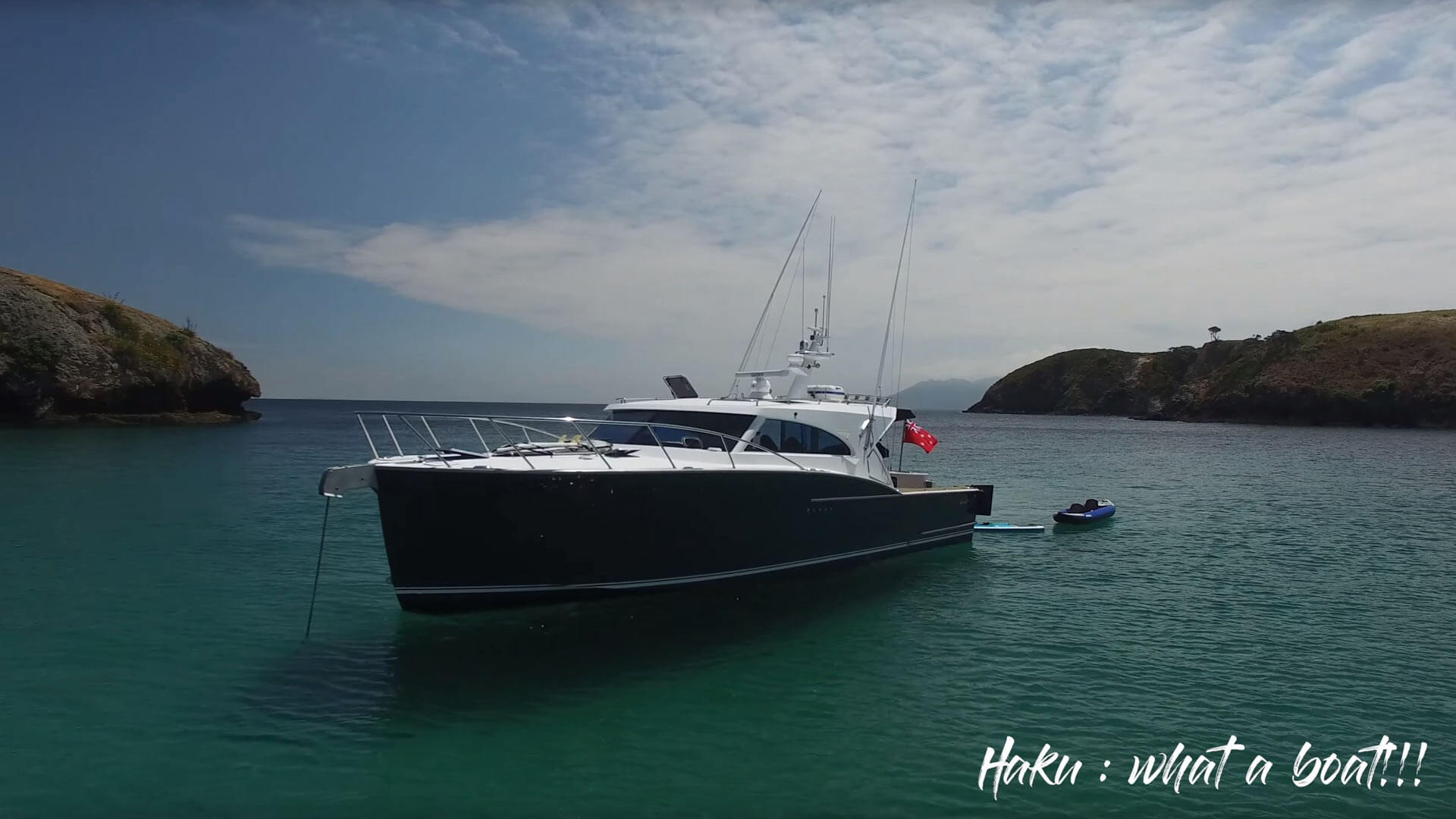 "Great Barrier Island holidays on Semifly 45 ""Haku"""