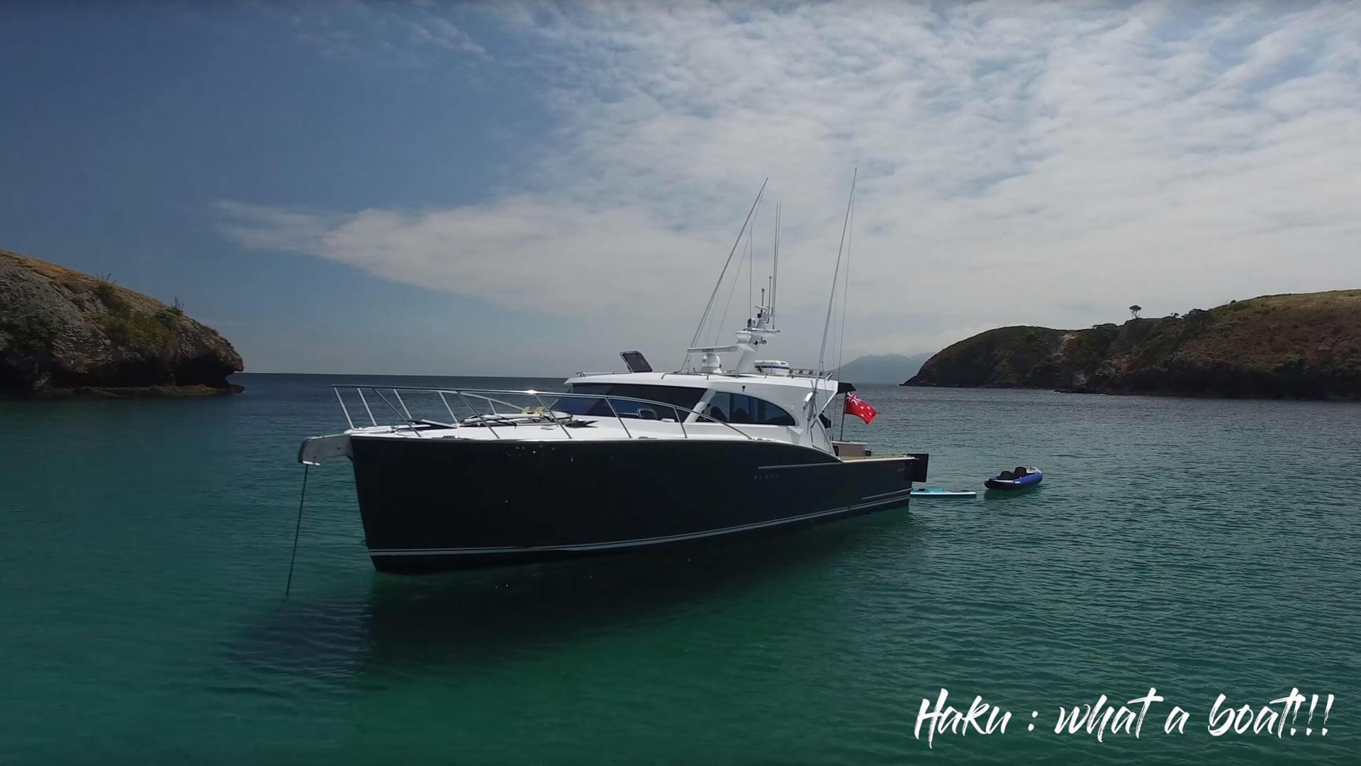 "Great Barrier Island holidays on Semifly 45 ""Haku"""