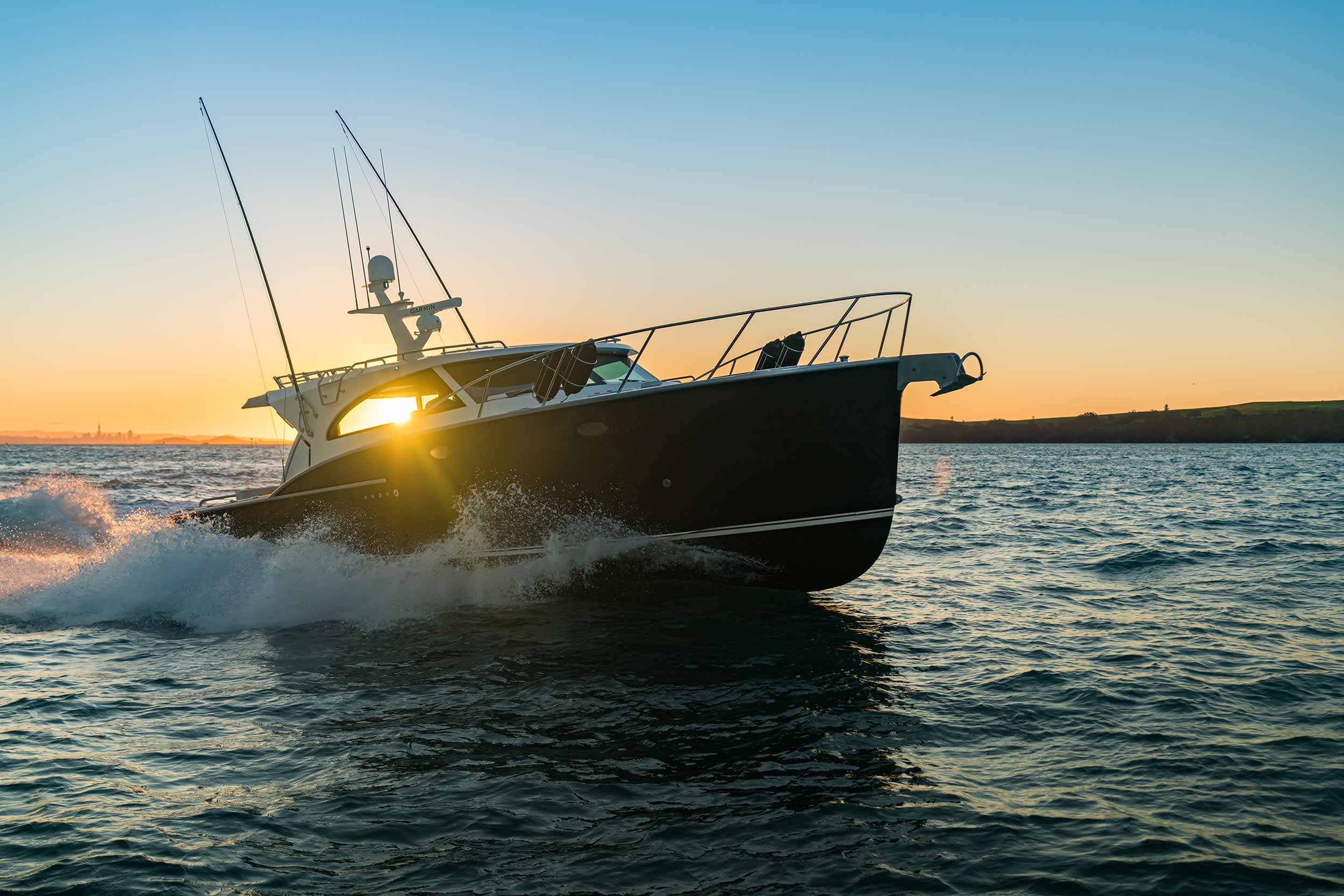 Flagship Dickey Semifly 45 at Auckland On-Water Show