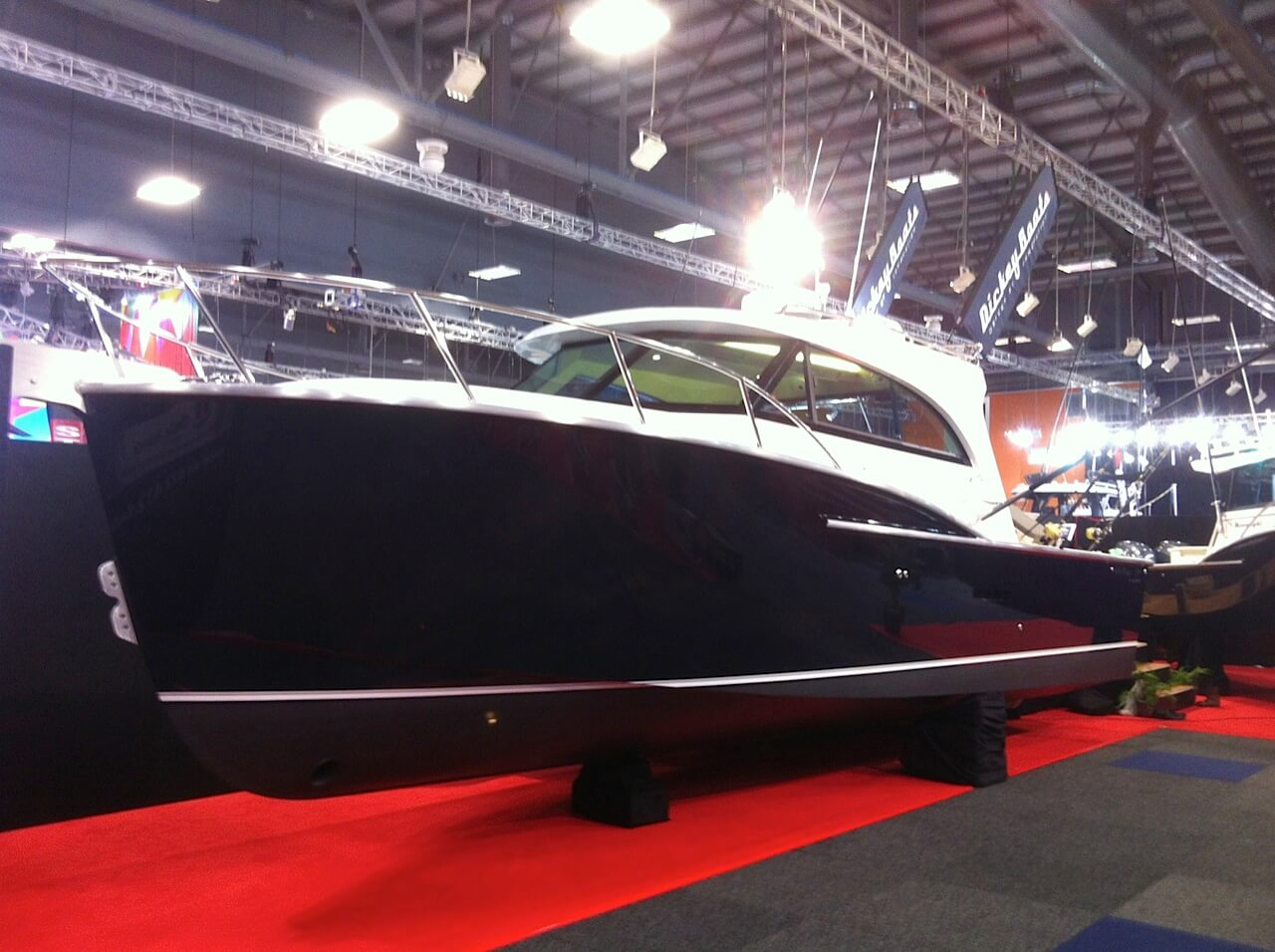 2014 Hutchwilco Boat Show a Golden Success for Dickey Boats