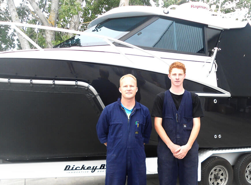 Dickey Boats Expands
