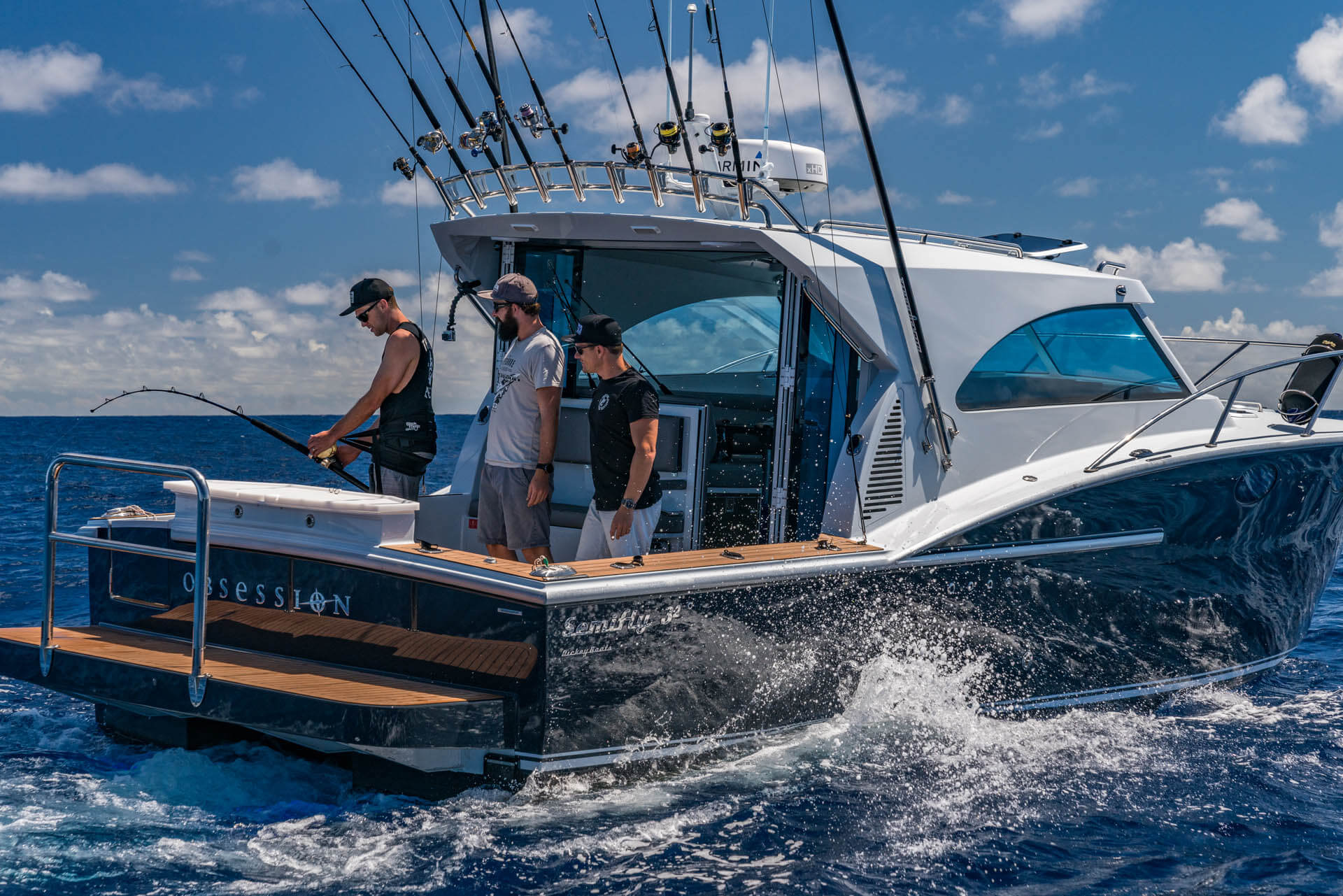 Your chance for a personalised Dickey Boats tour with Jason Dickey