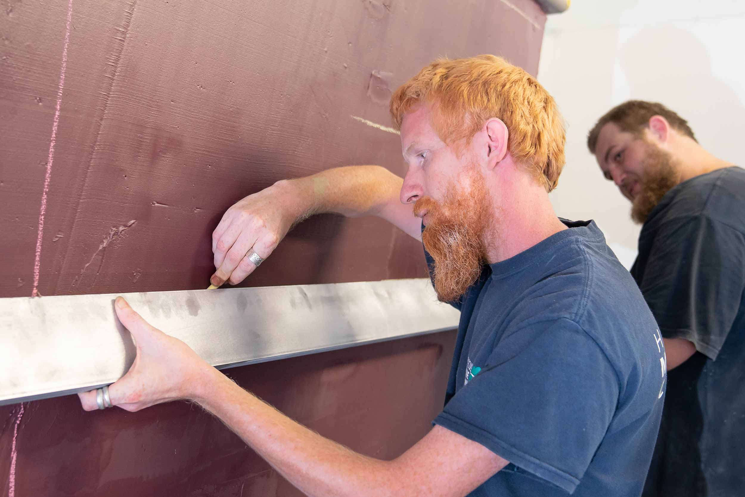 Dickey Boats painting roles