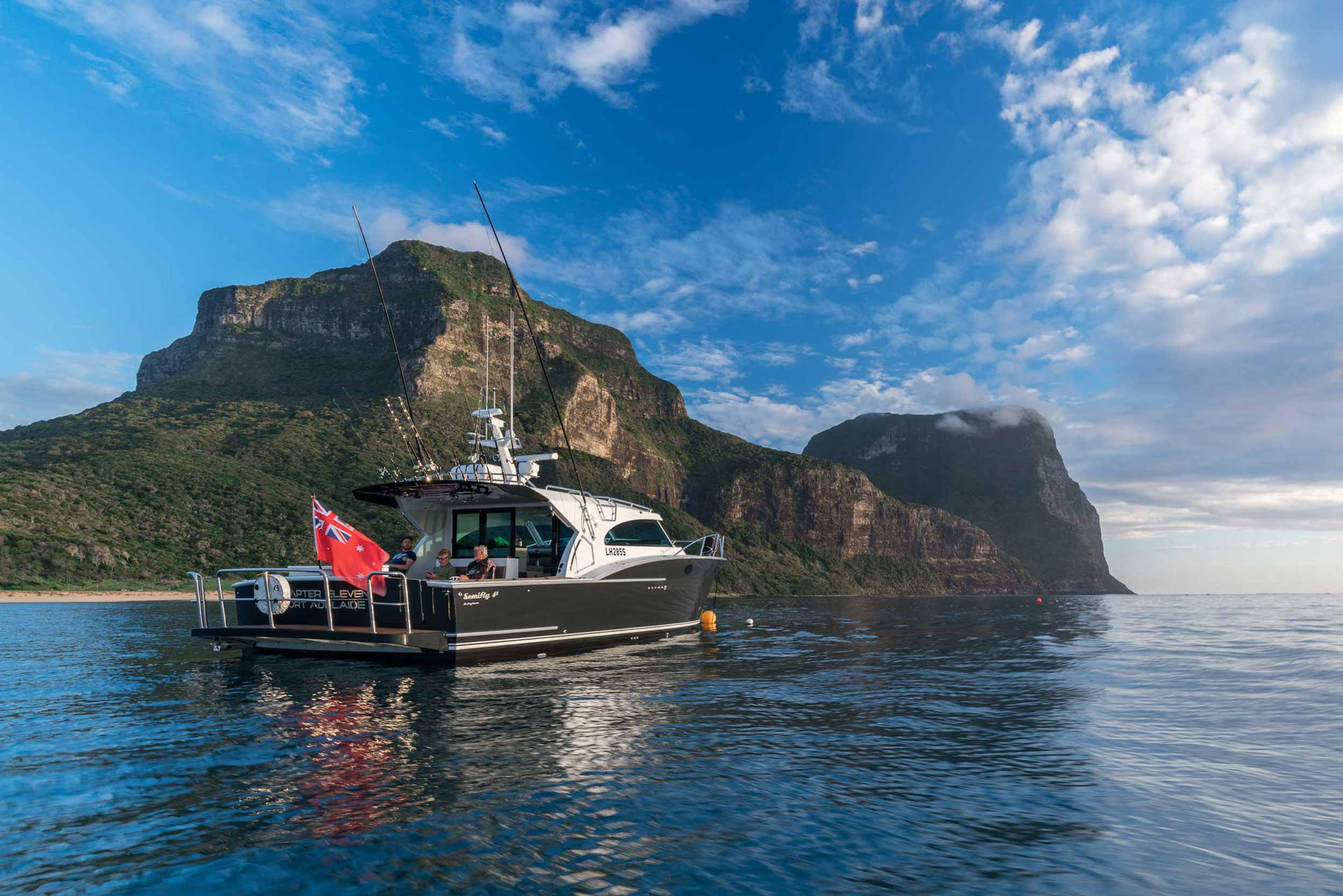 Dickey Semifly 45 at Lord Howe Island