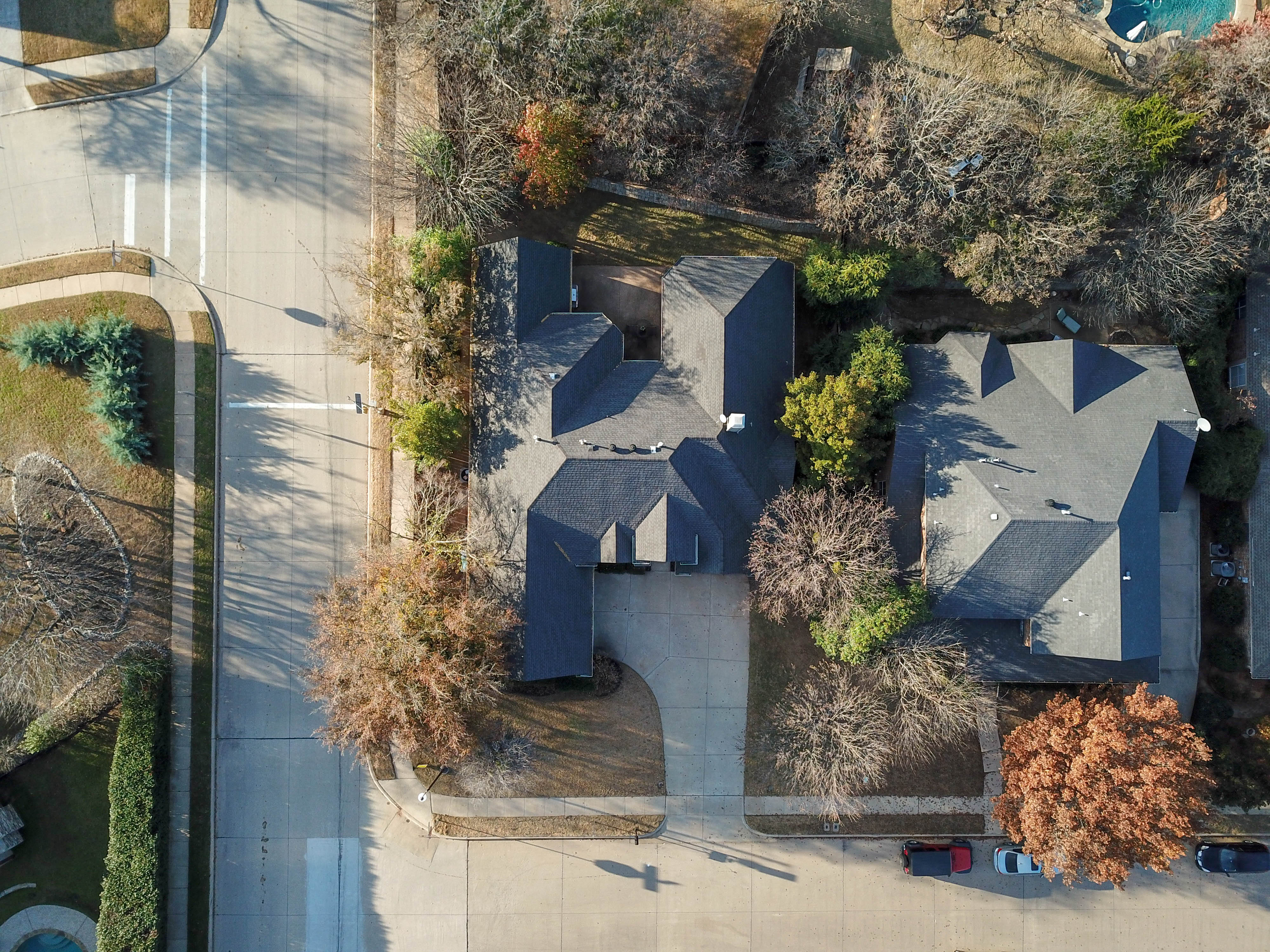 Drone Property Overview Shot