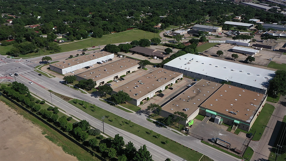 Property & Land Aerial Shot