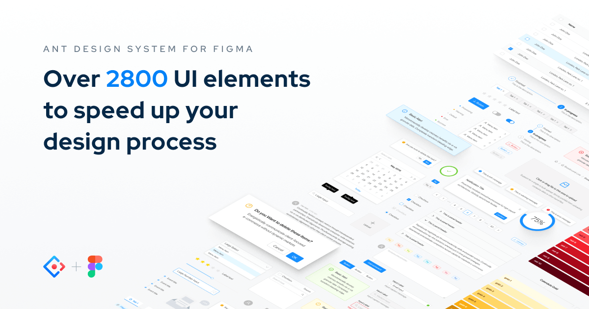 Ant Design System For Figma Ui Kit