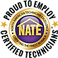 we are nate certified