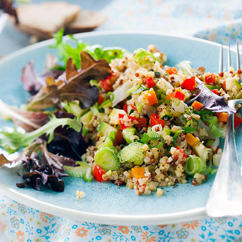 Quinoa and Feta salad