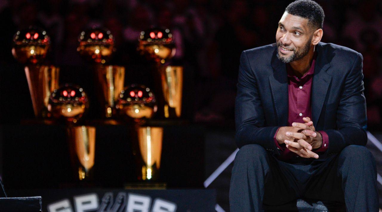 Tim Duncan Elected to Naismith Basketball Hall of Fame