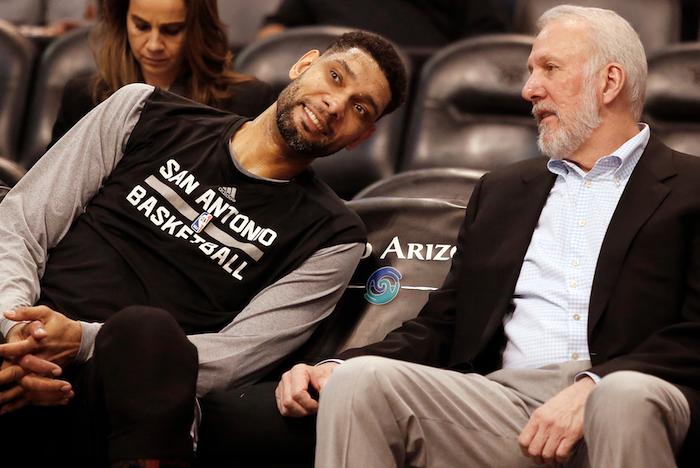 Dniówka: Tim Duncan będzie na ławce Spurs, a NBA o tym nie krzyczy