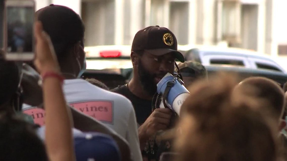 Jaylen Brown leads peaceful march during Atlanta protests ...
