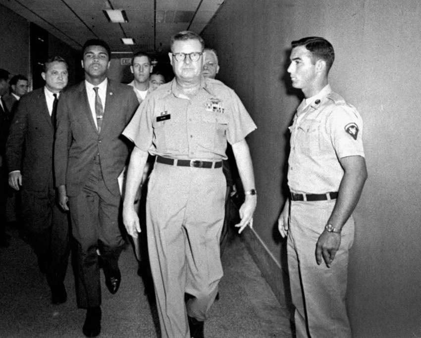 50 years ago this week Muhammad Ali refused the draft in Houston