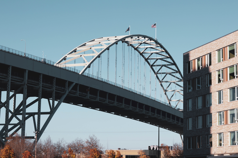 Bridge in a city