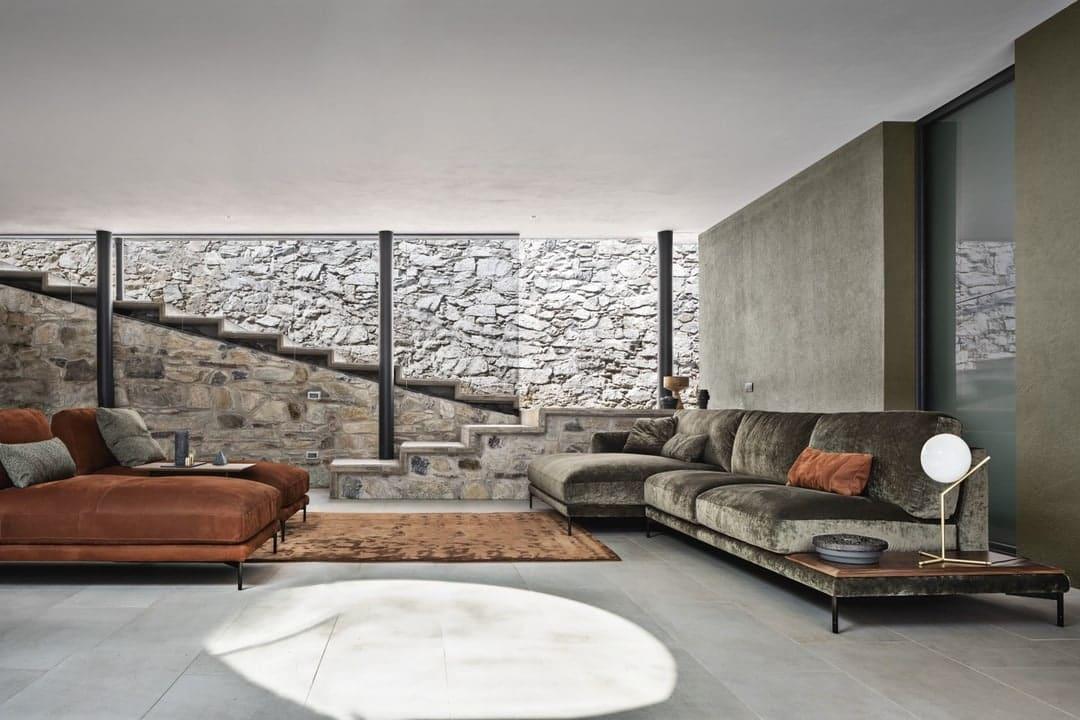 Interior of a modern home.