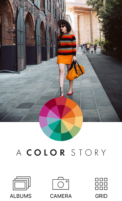A Color Story photo editing app for Instagram
