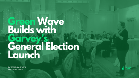 Green Wave Builds with Garvey's General Election Launch