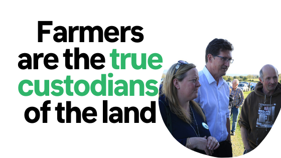 Our small farmers are the true custodians of the land