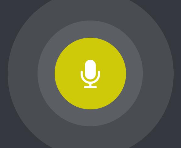 Voice activated custom icon design