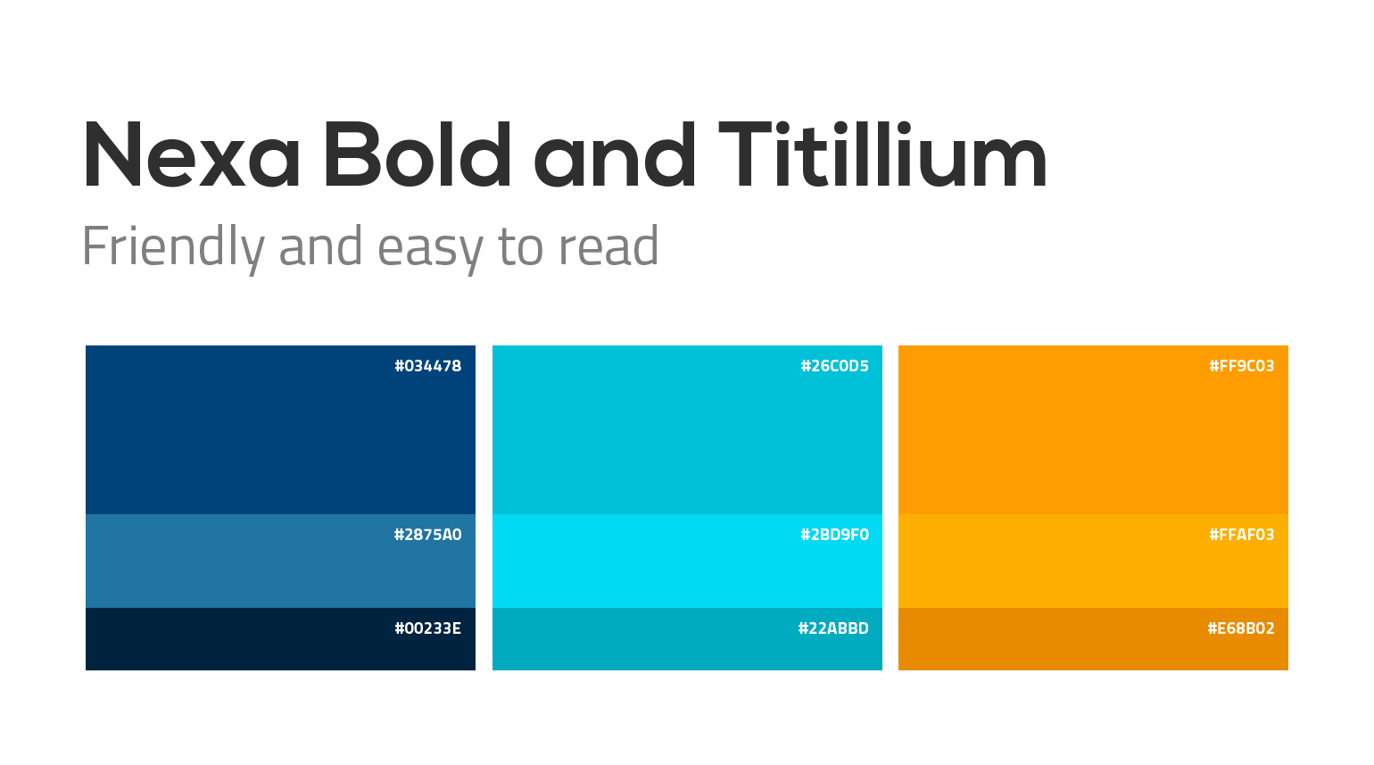 Bolt Insurance color palette and typography.
