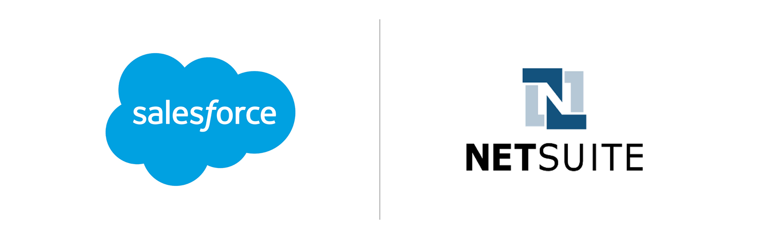 Salesforce and NetSuite logos