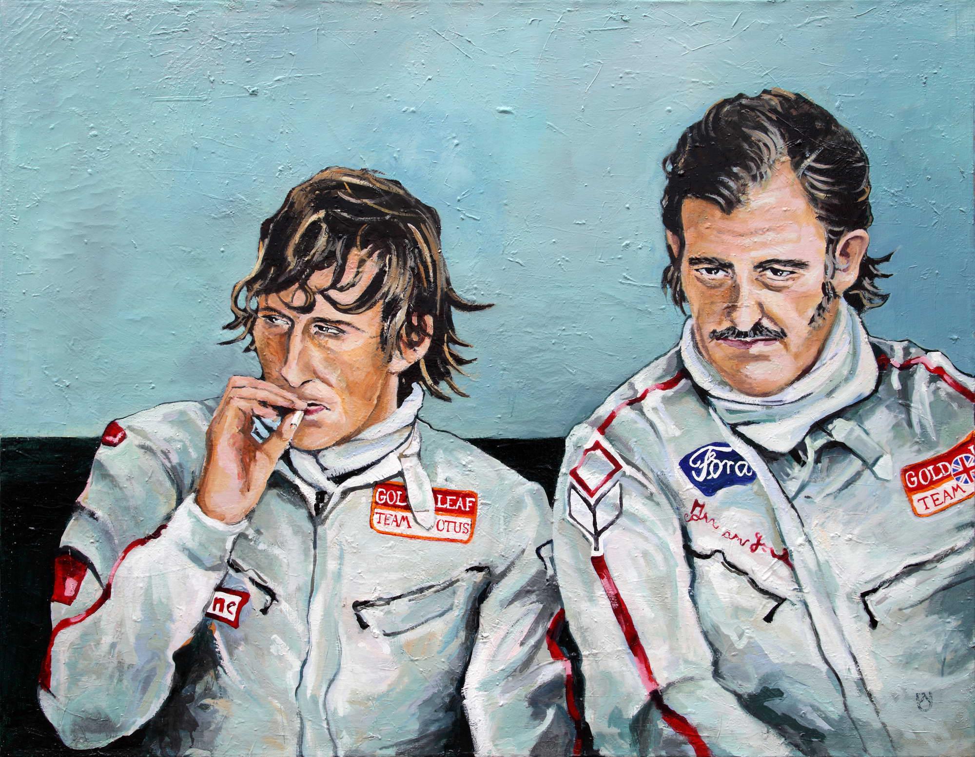 Jochen Rindt / Colin Chapman