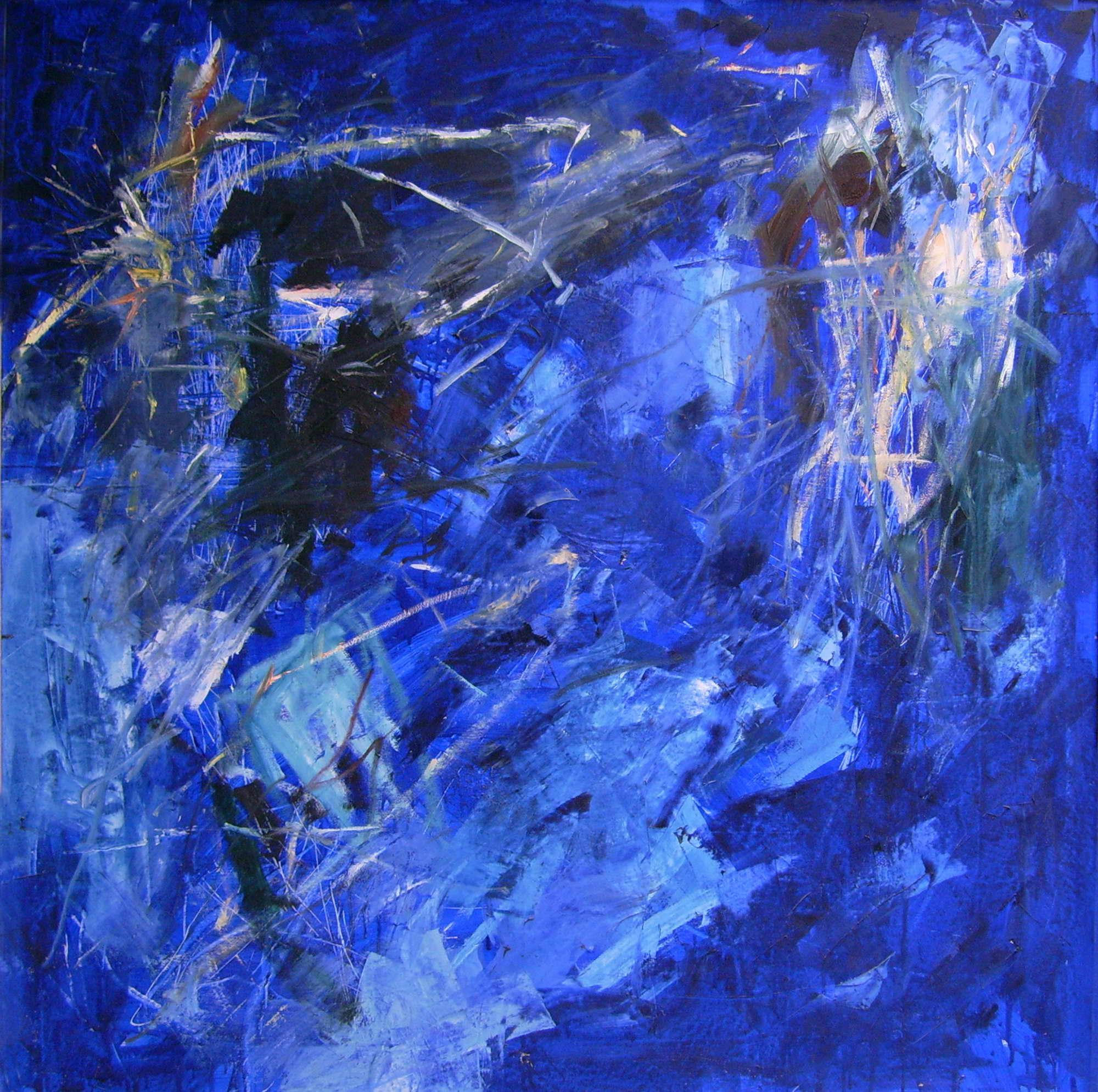 Gott erschafft Blau