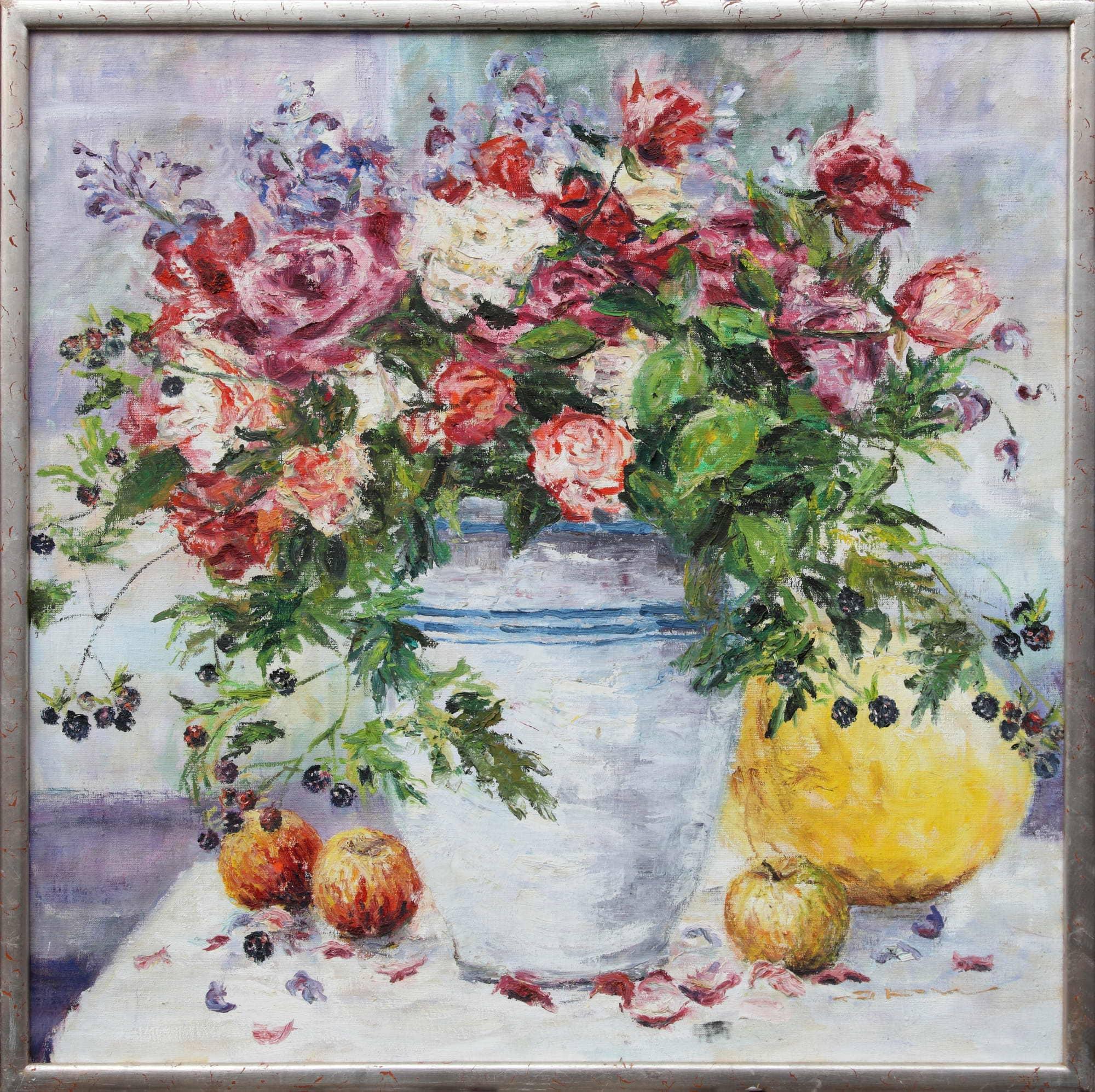 Rosen mit Früchten