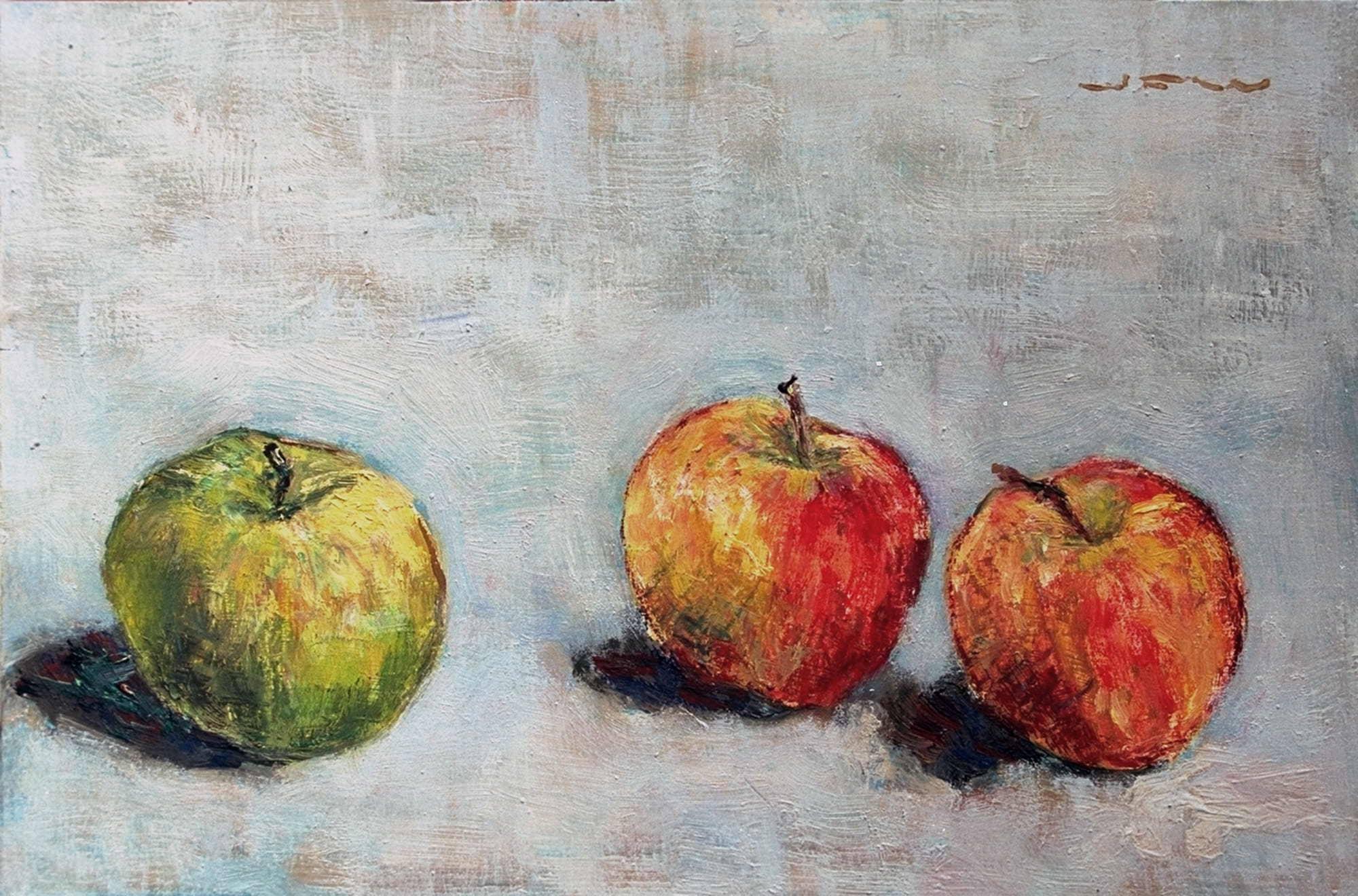 3 Äpfel