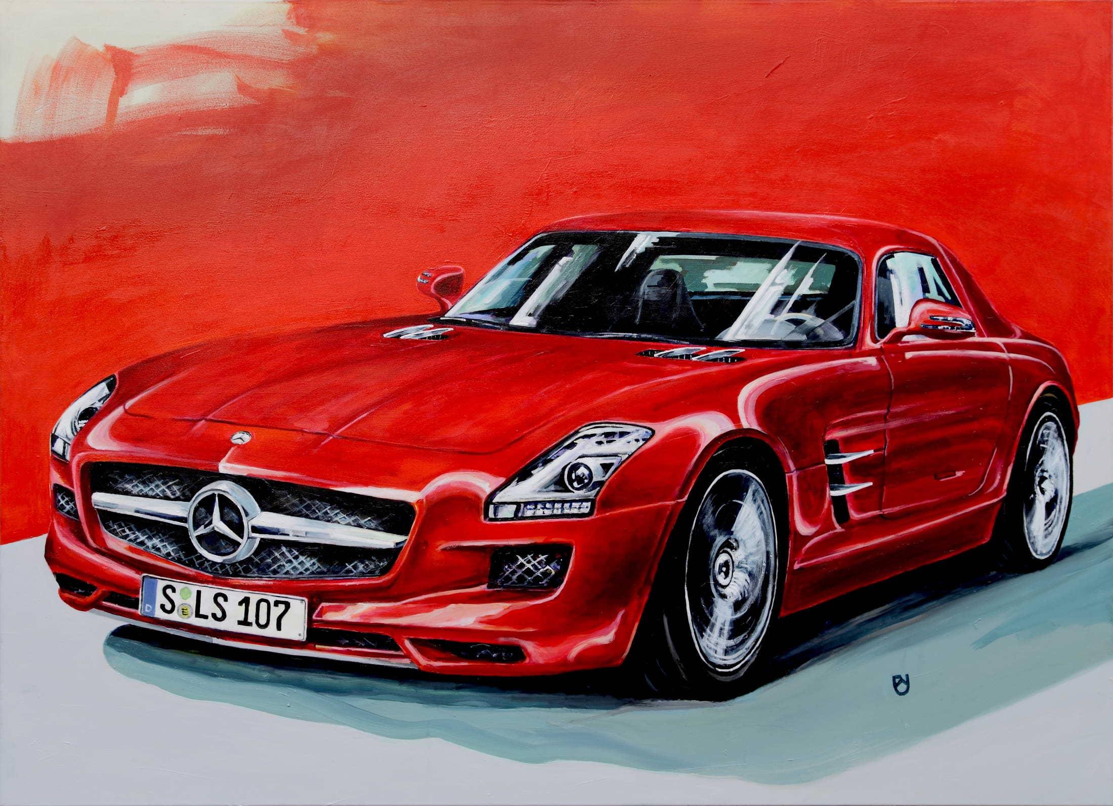Daimler AMG SLS rot