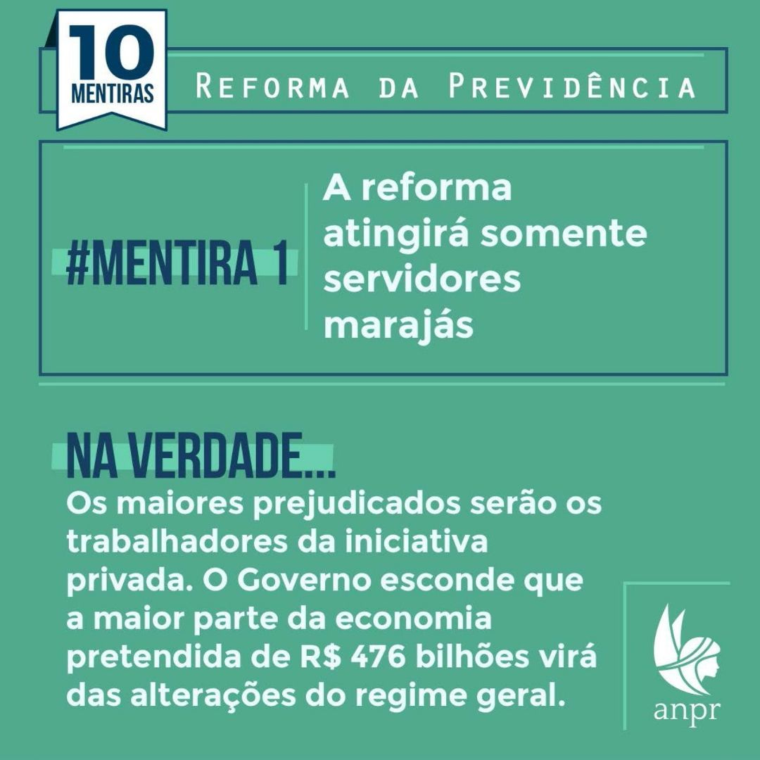 10 mentiras sobre a Reforma da Previdência