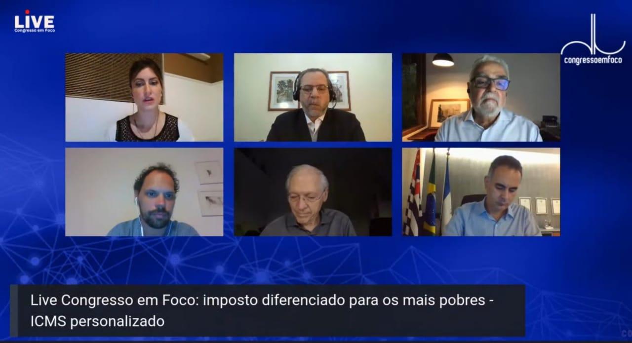 Em Live, especialistas discutem ICMS Personalizado