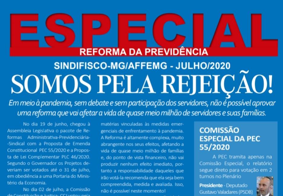 Edição especial conjunta AFFEMG e Sindifisco/MG: reforma da Previdência