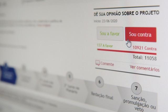 Reforma da Previdência lidera mobilização on-line em Minas Gerais