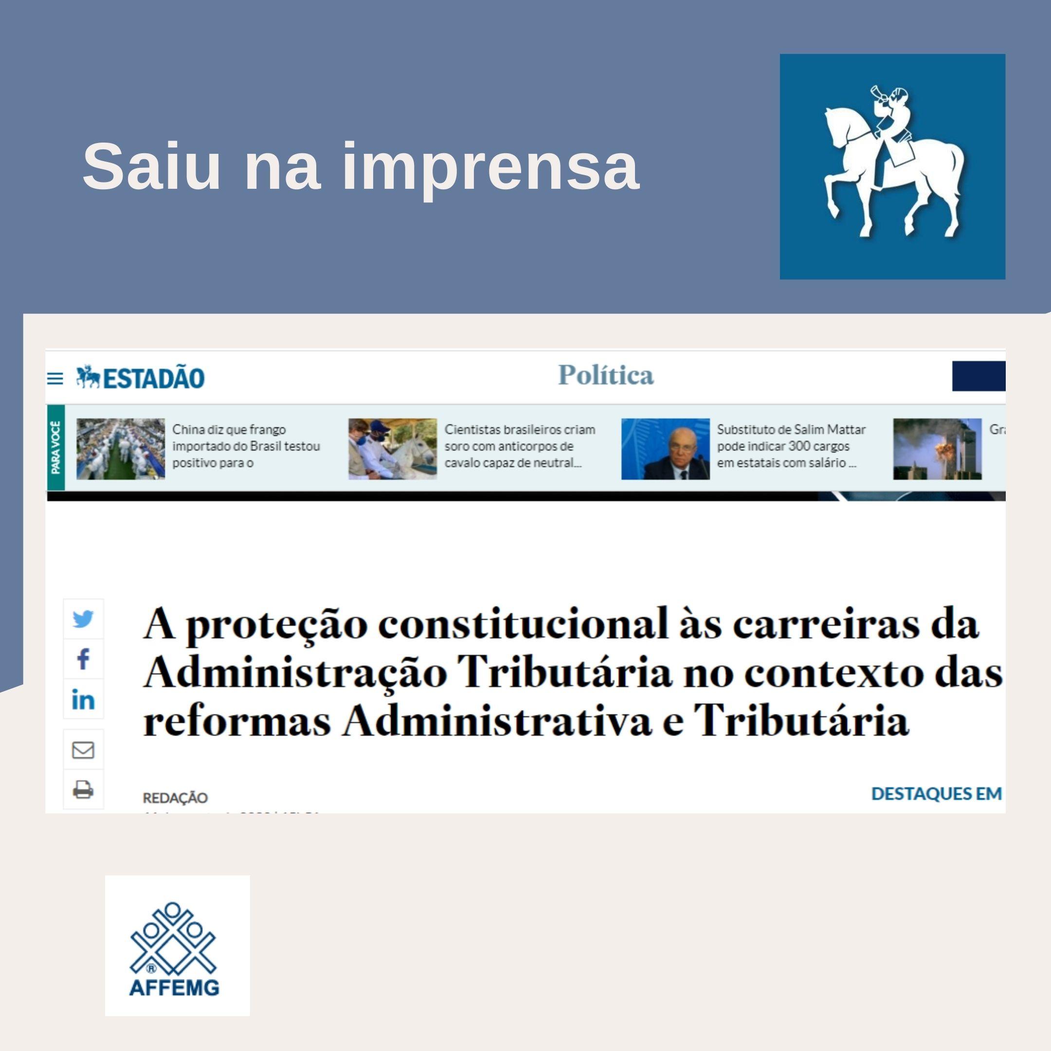 A proteção constitucional às carreiras da Administração Tributária no contexto das reformas Administrativa e Tributária