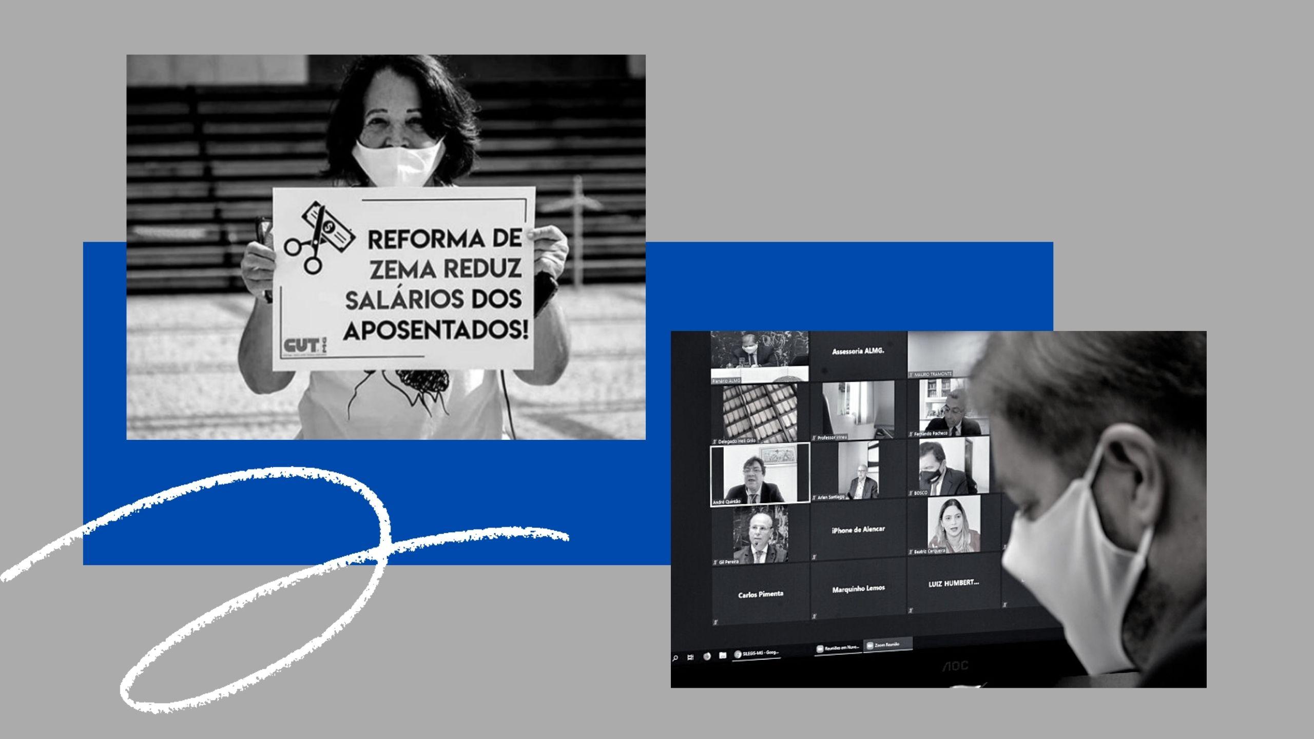 Com reforma, Minas passa a ter a 2ª maior taxa da previdência no país