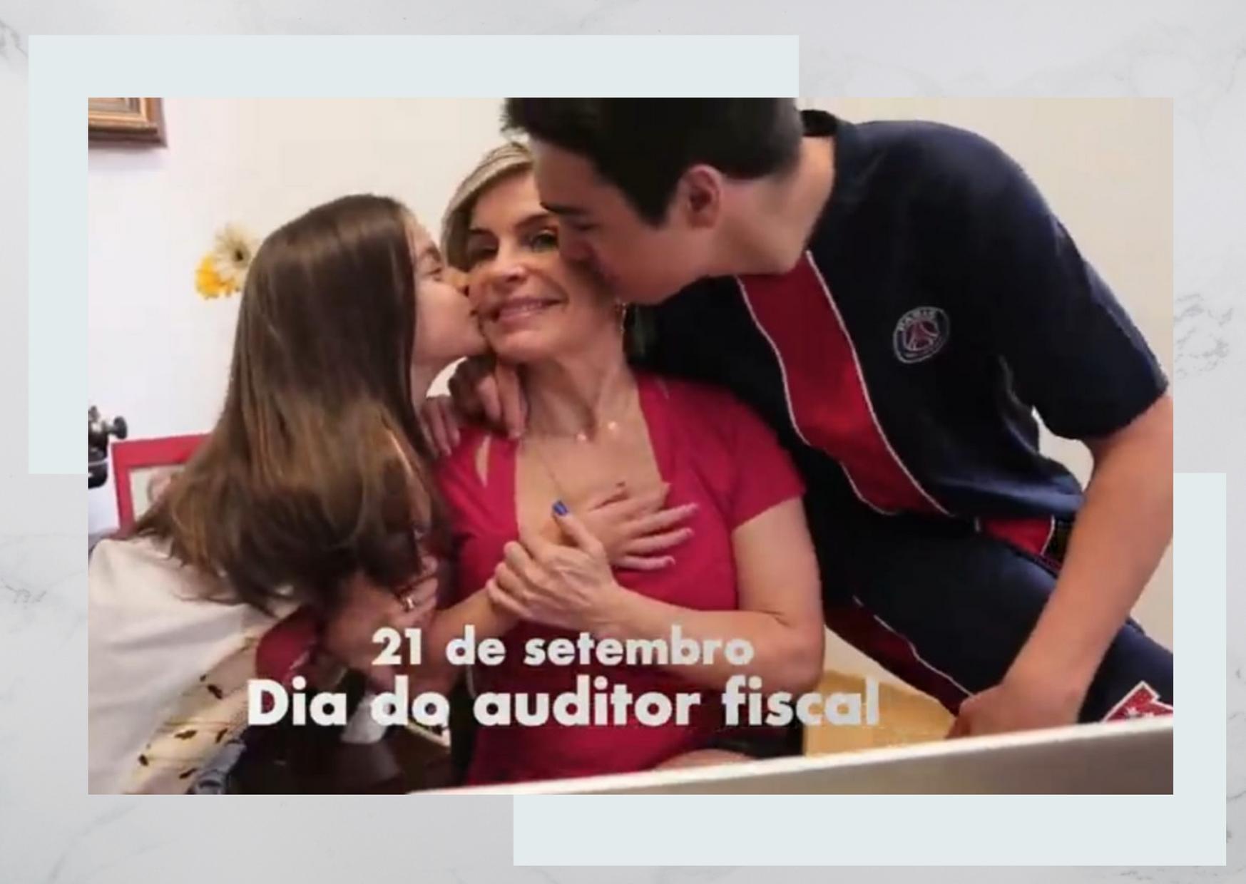 Vídeo homenageia Auditor Fiscal na televisão mineira e nas redes sociais