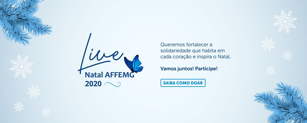 AFFEMG Solidária - Natal 2020: Saiba como doar!