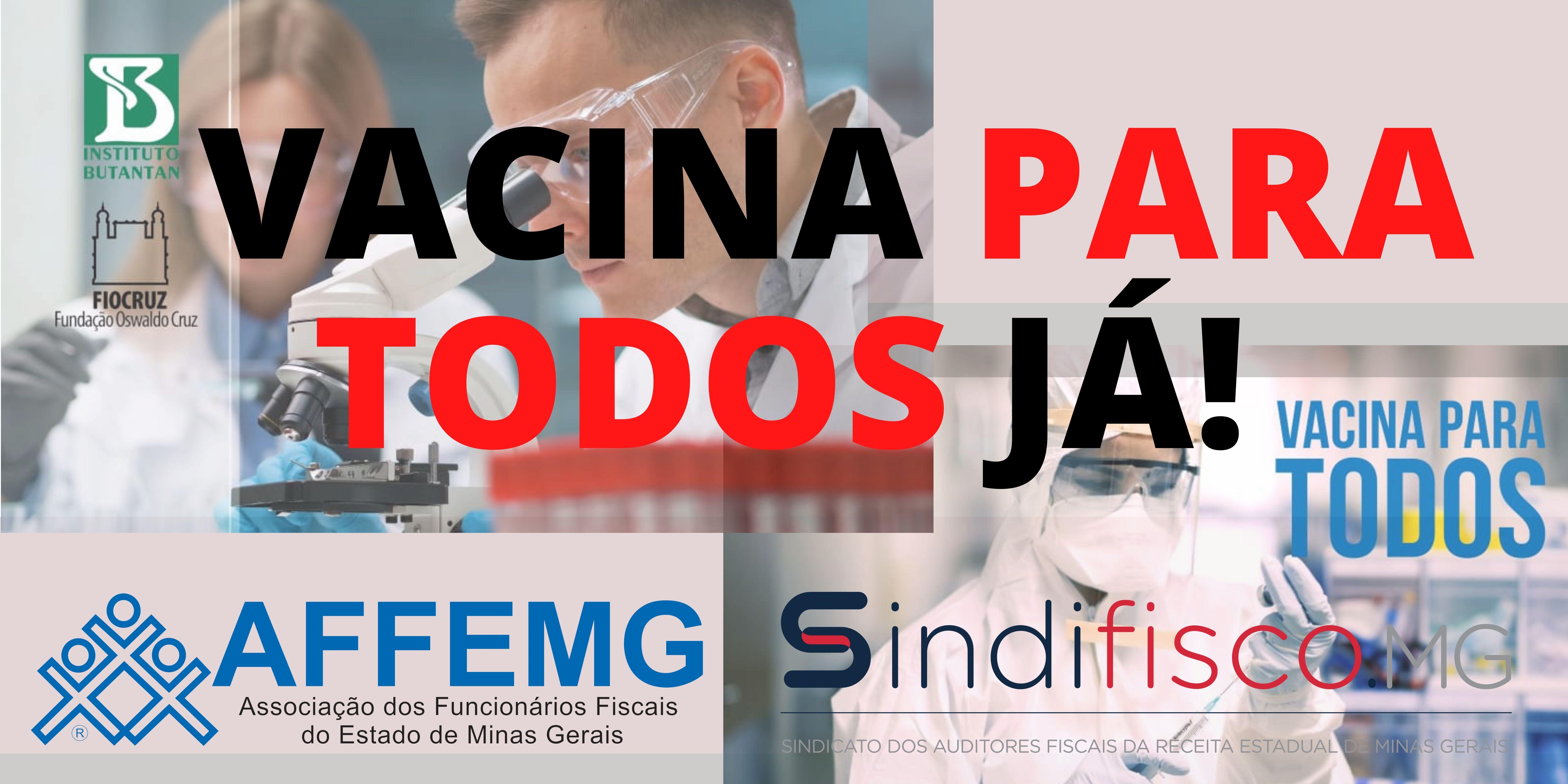 Entidades lançam campanha e exigem vacina para todos