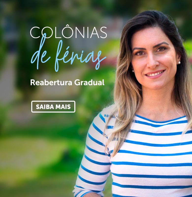 Banner colônia de férias